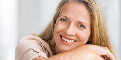 smiling mature woman